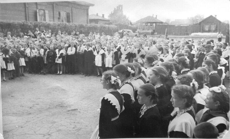 Школа 6 - 1950-е годы.