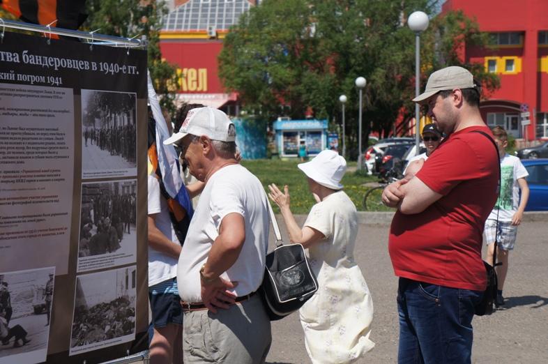 Пикет в Томске 22 июня 07