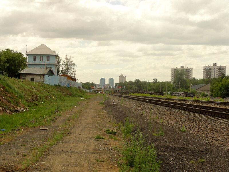 Бывшая станция Братцево