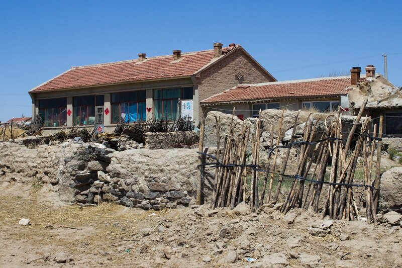 дом во внутренней монголии, китай