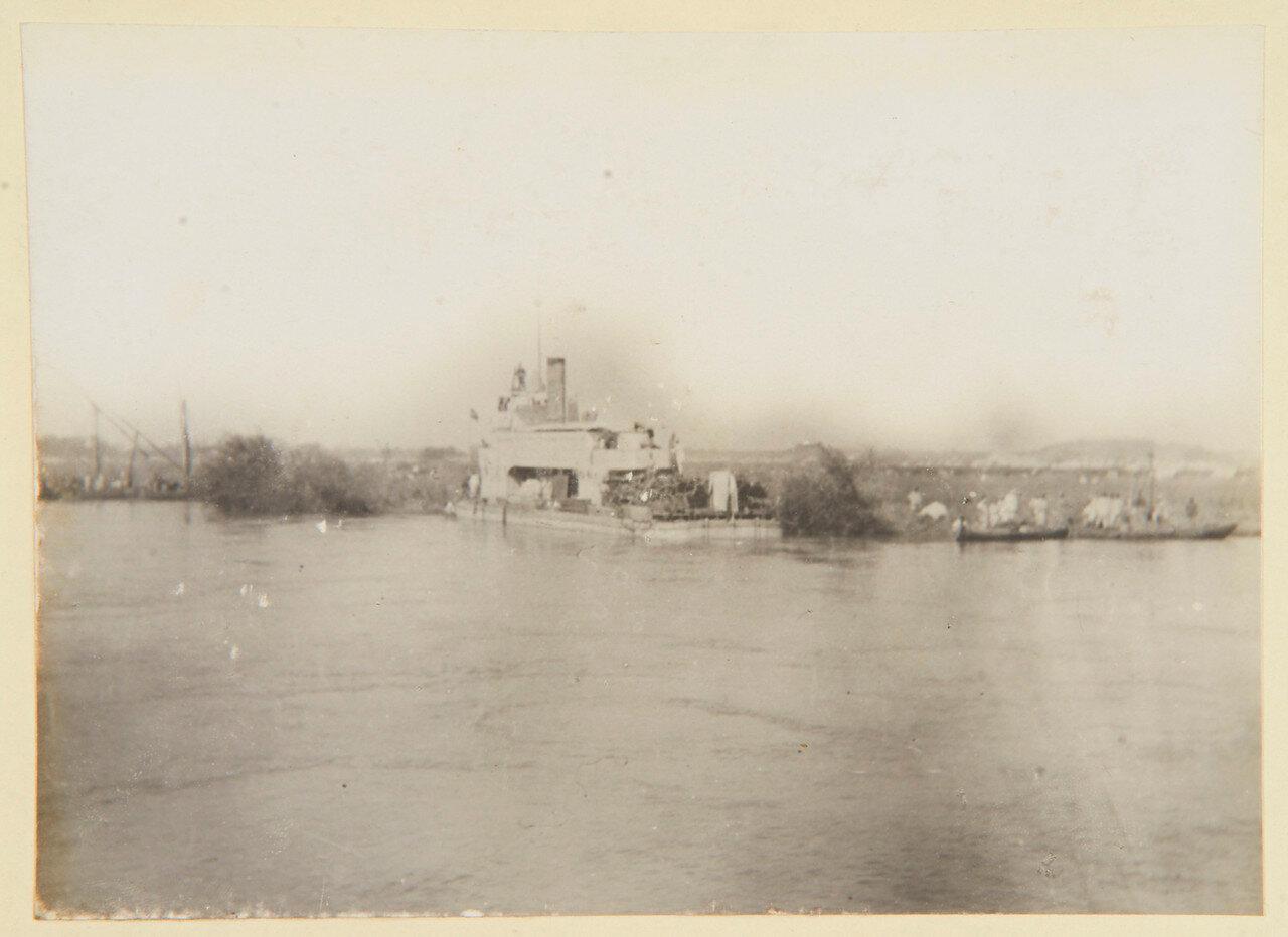 Август 1898. Канонерка Султан в Вад Хамиде