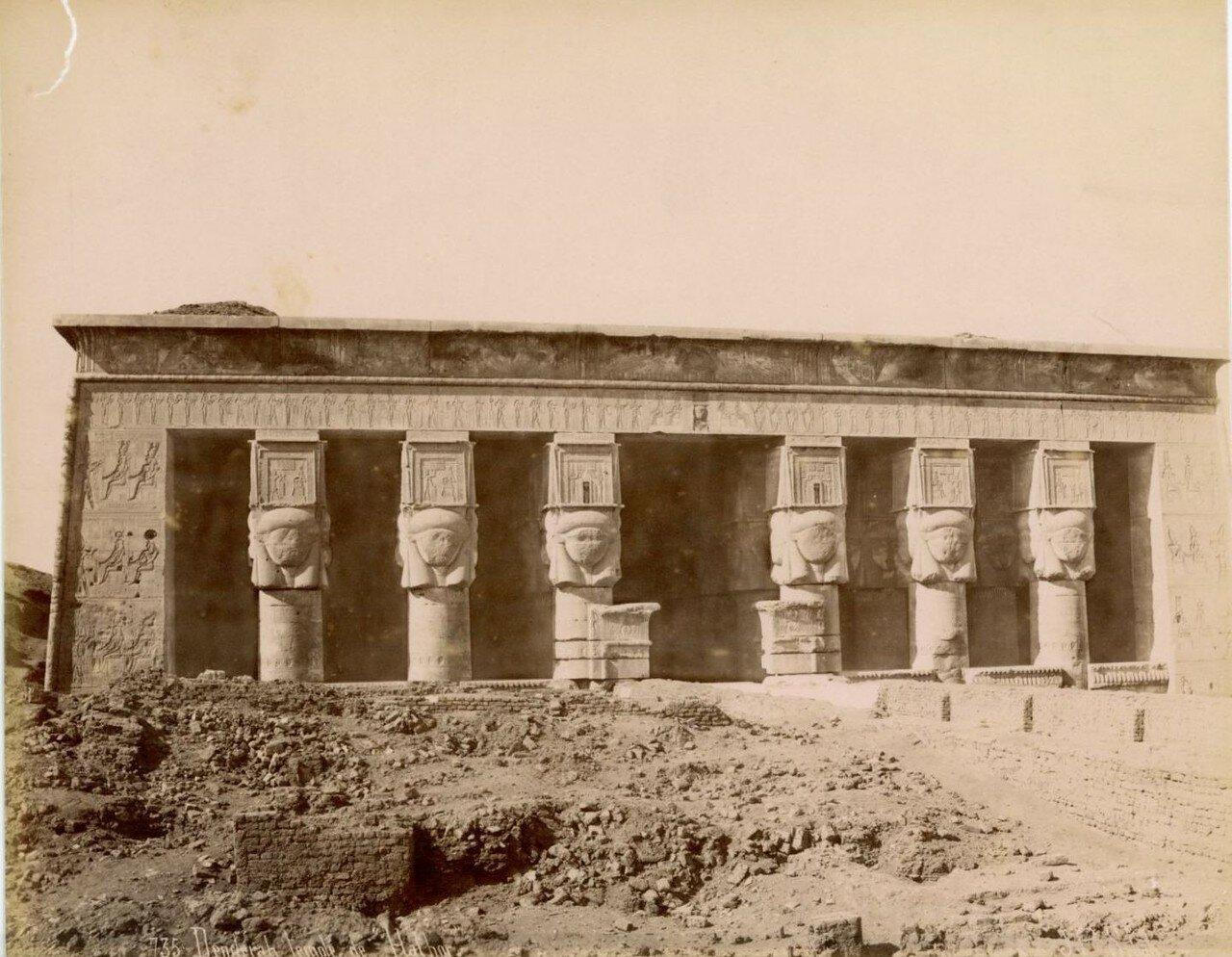 1890-е.  Храм Хатхор