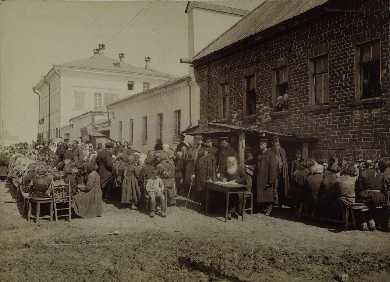 Народная столовая в зашт. городе Починок Нижегородской губернии