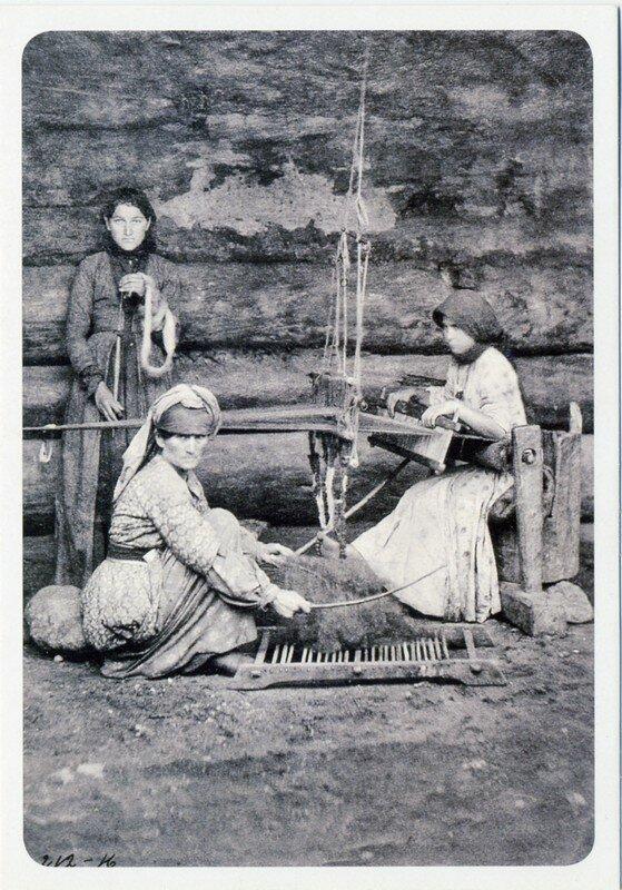 Рукоделие горских женщин. Конец XIX века.