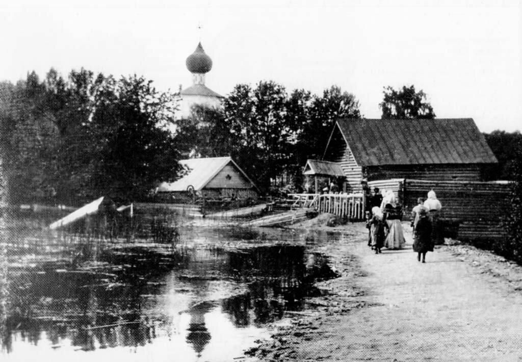 Жёлтиков монастырь. Мельница. 1890