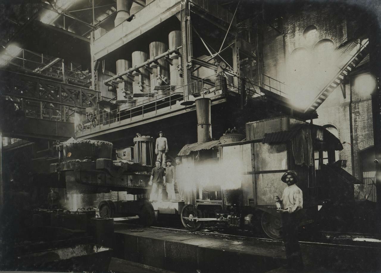 Производство бессемеровской стали