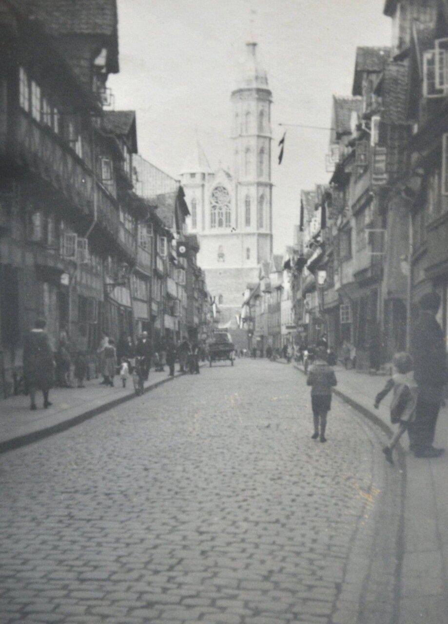 Брауншвейг. Улица в Старом городе. Май 1933