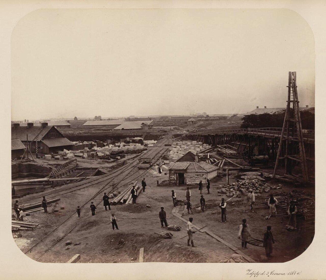 Строительные работы 1861