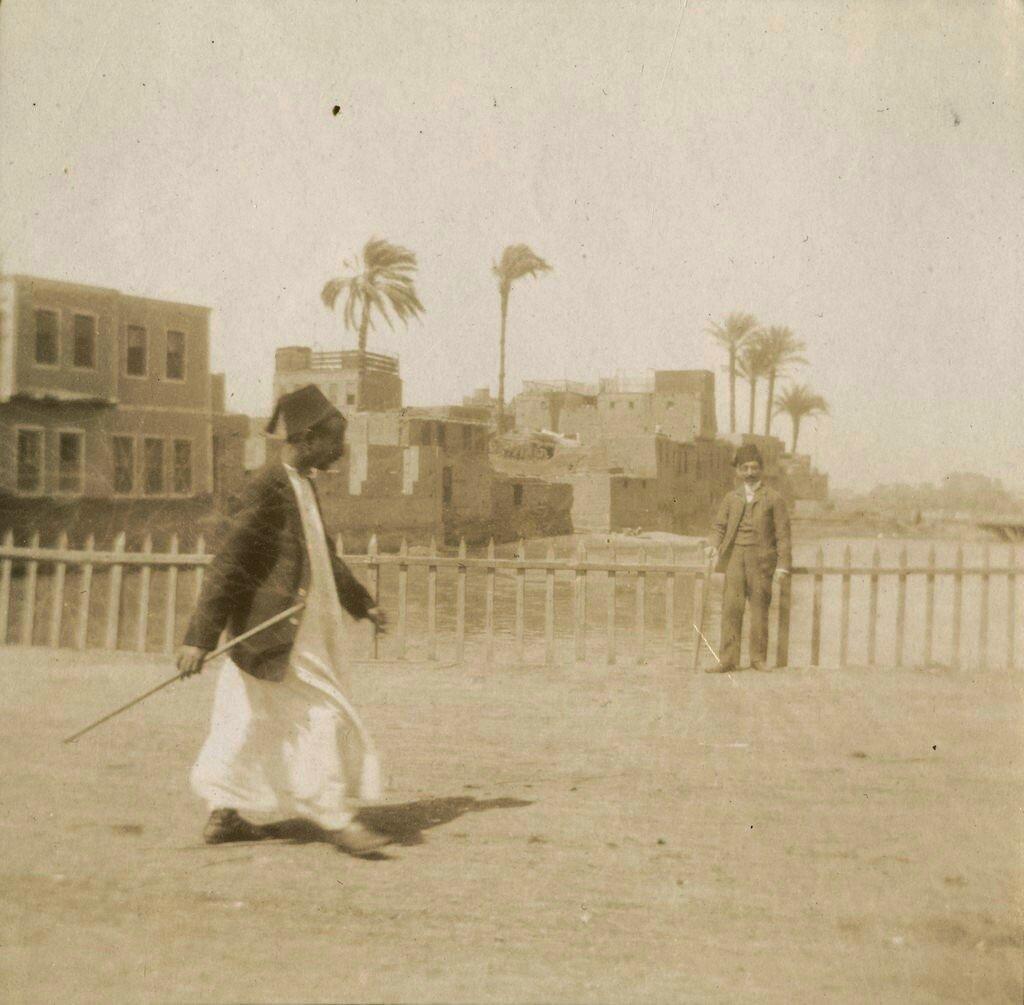 1900-е. Уличная сцена где-то на Ближнем Востоке