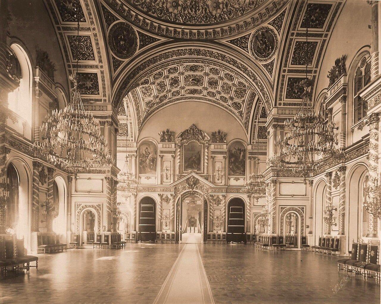 Интерьер Александровского зала  Большого Кремлёвского дворца