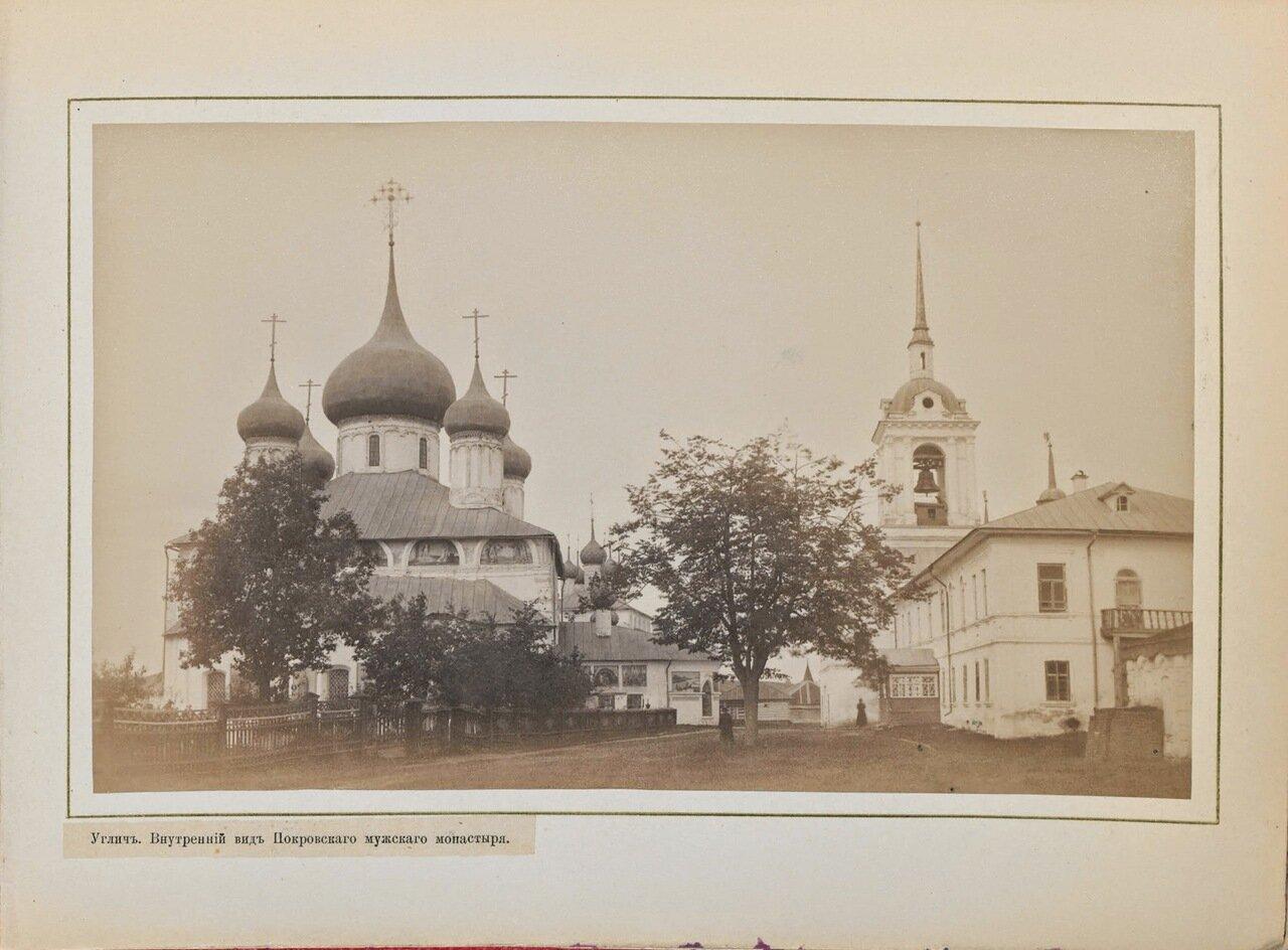 Внутренний вид Покровского мужского монастыря