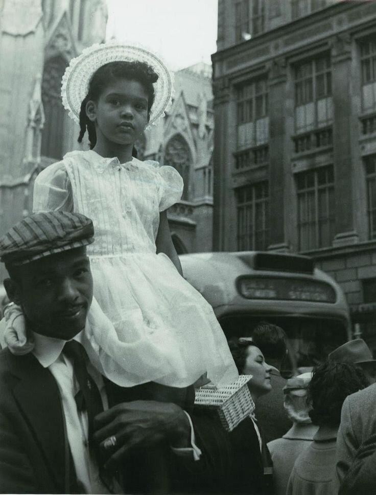 1957. Нью-Йорк. Пасхальное шествие