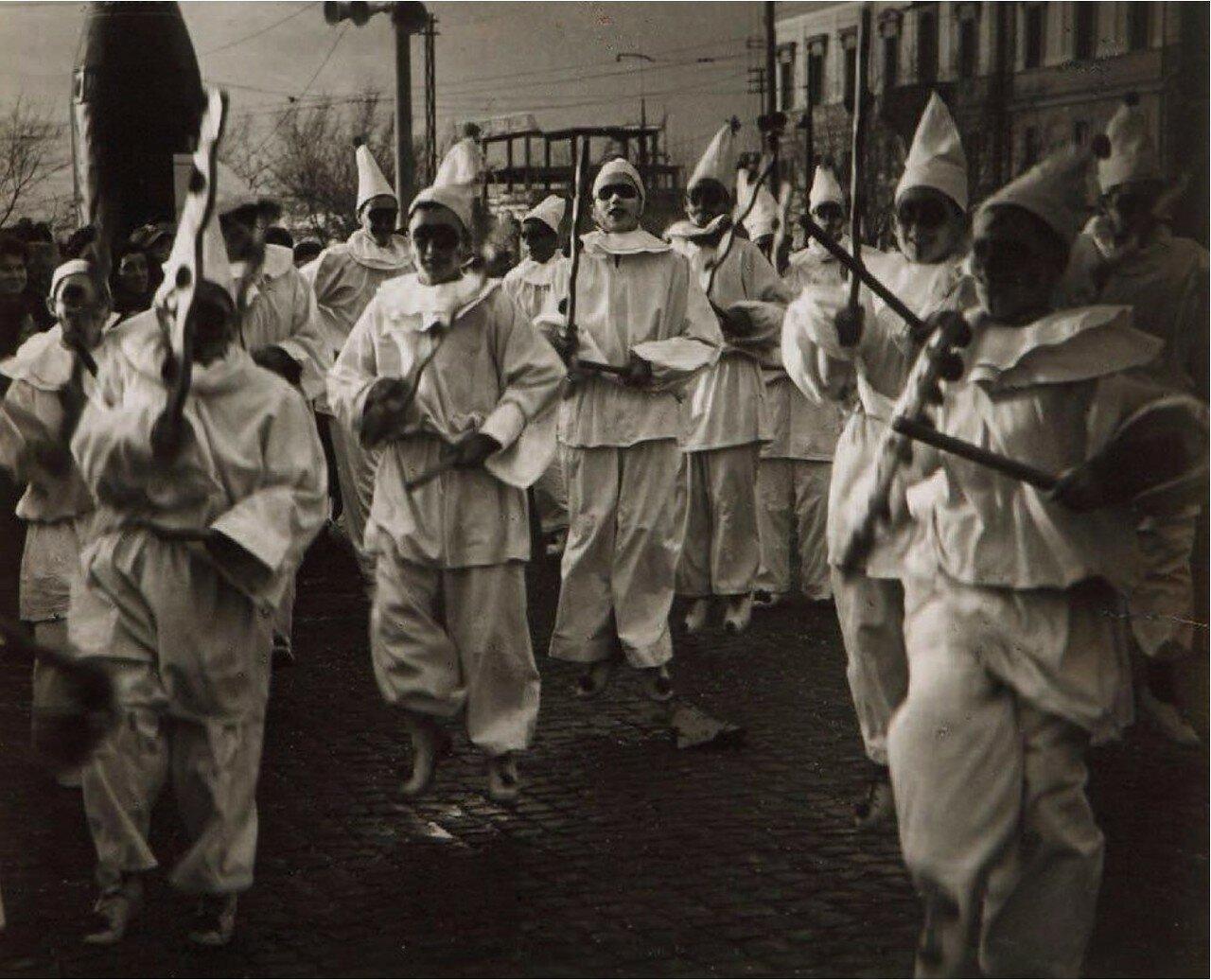 1954. Карнавал Фраскати недалеко от Рима