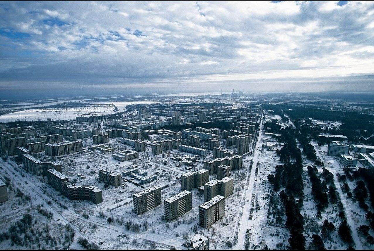 32. Покинутый город Припять