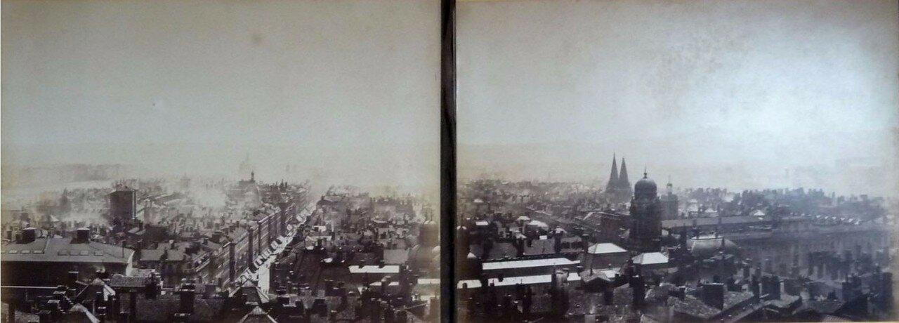 1869. Панорама Лиона