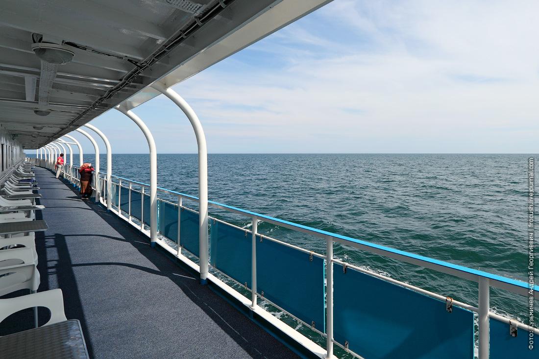 просторы Каспийского моря