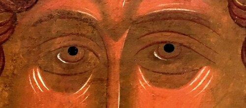 Святой Великомученик Георгий Победоносец. Икона. Новгород, XVI век.