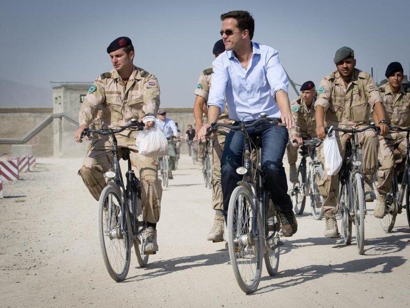 Визит премьер–министра Нидерландов Mark Rutte в Афганистан