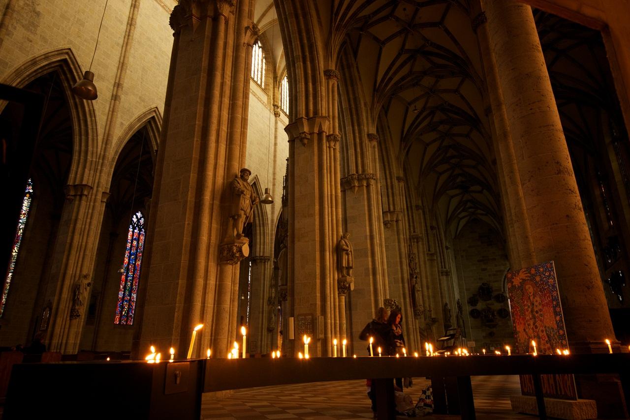 Prayers at Ulmer MA?nster