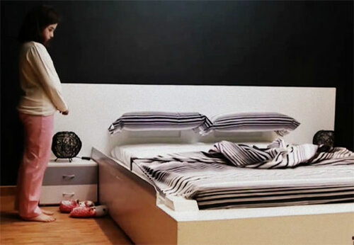 Всего 50 секунд и ваша кровать будет собрана сама
