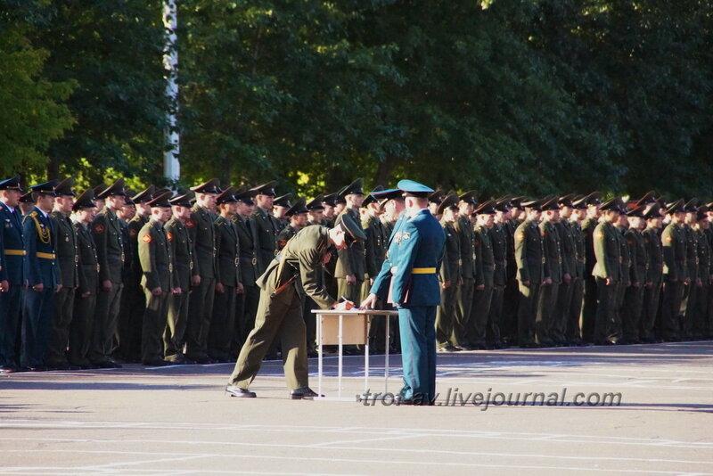 ОТИИ, День танкиста-2012, присяга, Омск