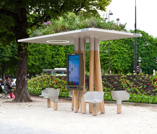 Доступ в интернет по-парижски красиво