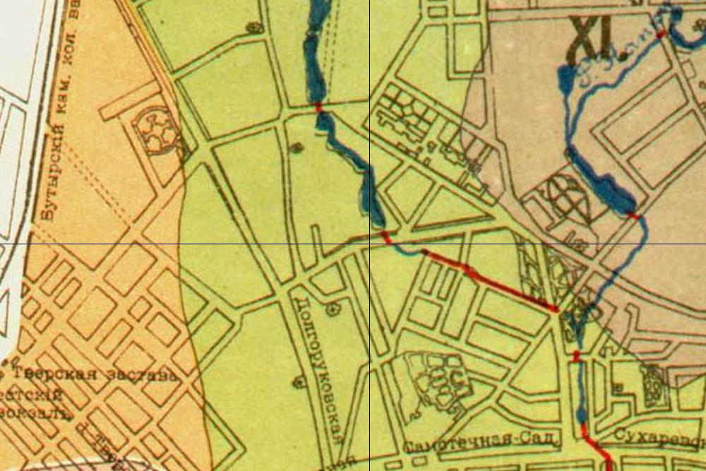 Карта 1912-й год