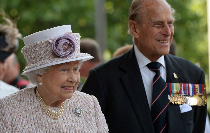 Королевская семья напраздновании 70-летия Дня Победы над Японией