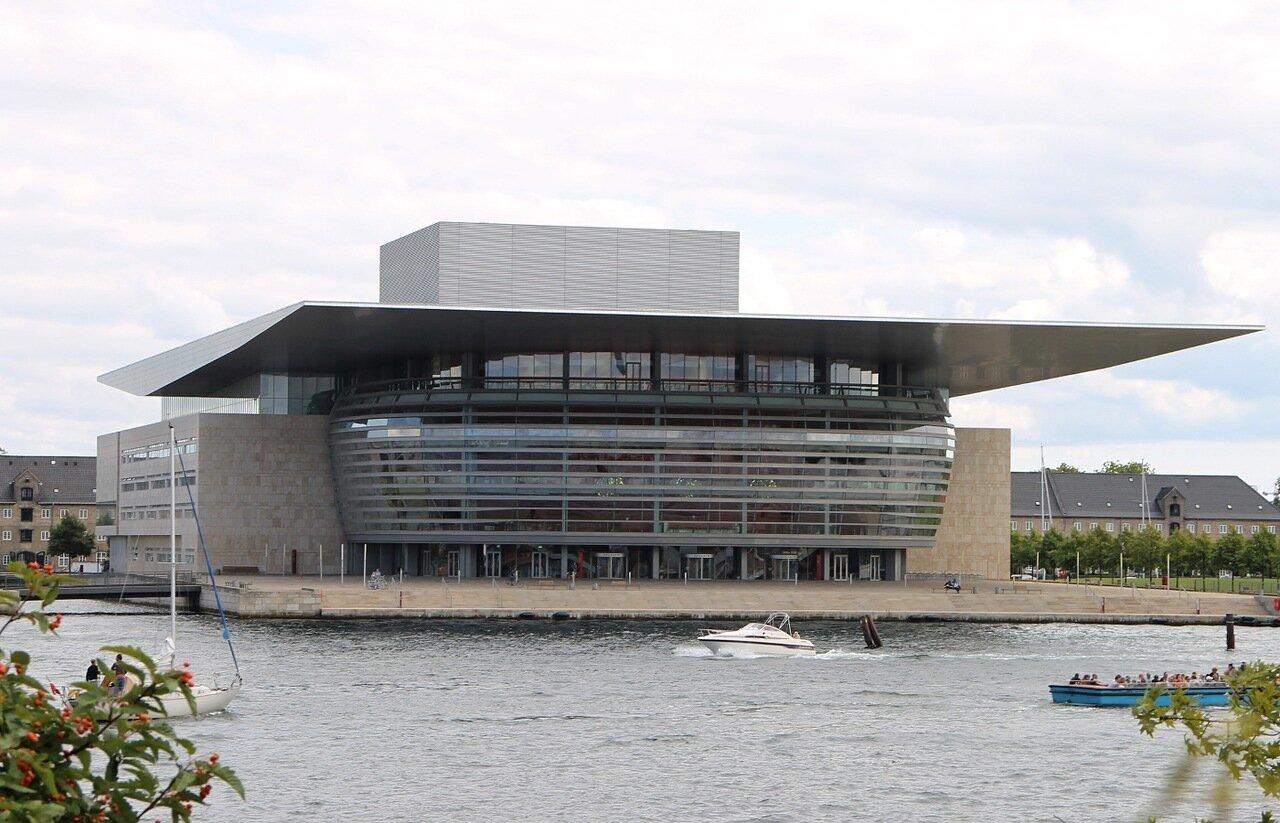 Копенгаген. Оперный театр (Operaen på Holmen)