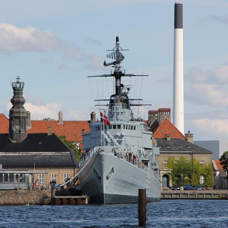 Копенгаген. Фрегат Педер Скрам (HDMS Peder Skram)