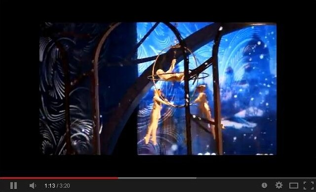 «Рождественский вальс» на ВВЦ видео