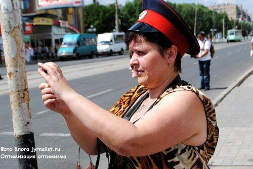 Крестный ход в Луганске 9 июня 2013 года