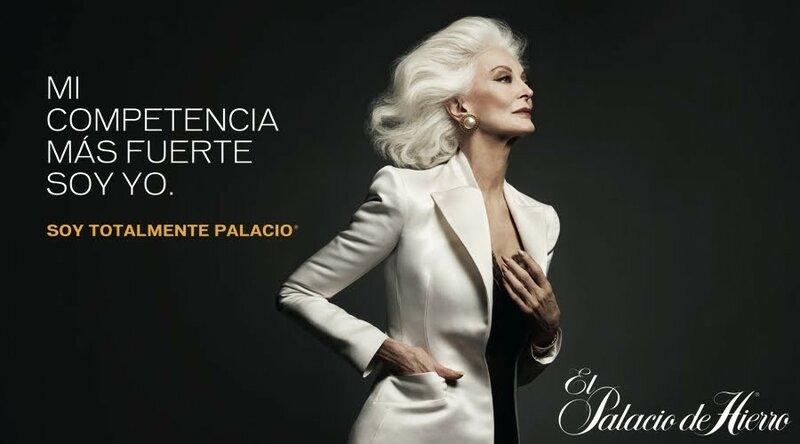 Carmen Dell'Orefice for El Palacio de Hierro.jpg