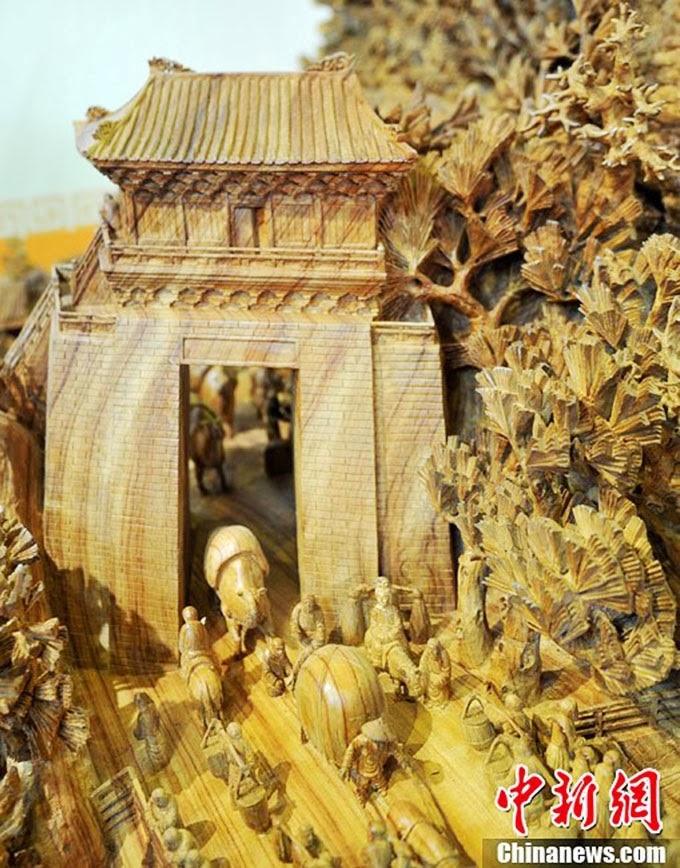 Самая большая в мире скульптура из дерева