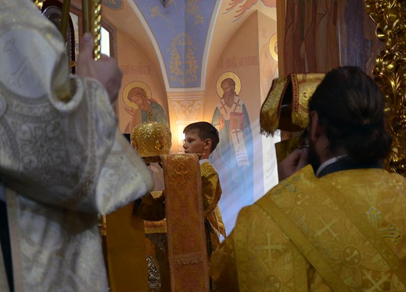 Неделя 15-я по Пятидесятнице. Архиерейское служение