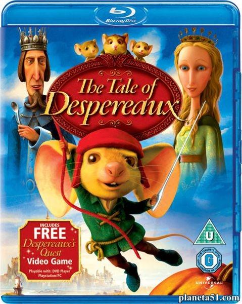 Приключения Десперо / The Tale of Despereaux (2008/HDRip)