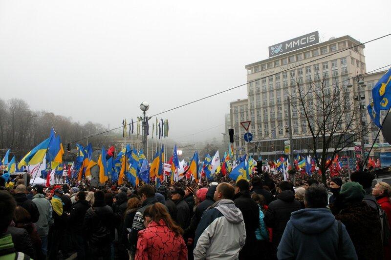 Новый Евромайдан в Киеве