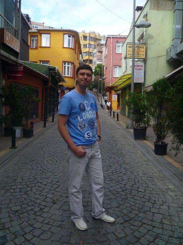 Стамбул - район Ортакей (Istanbul - Ortakoy district).
