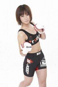 Мика Нагано японская девушка боец