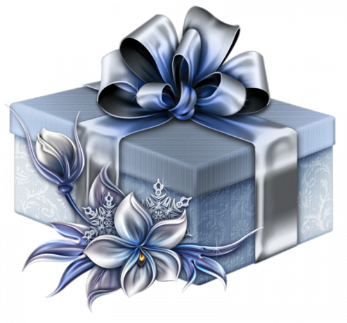 TOUCHING HEARTS: CHRISTMAS - PRESENTS - TUBE / PNG