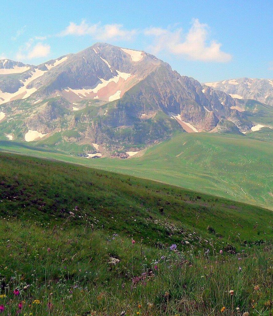 Июль 2010, Кавказ, Оштен,