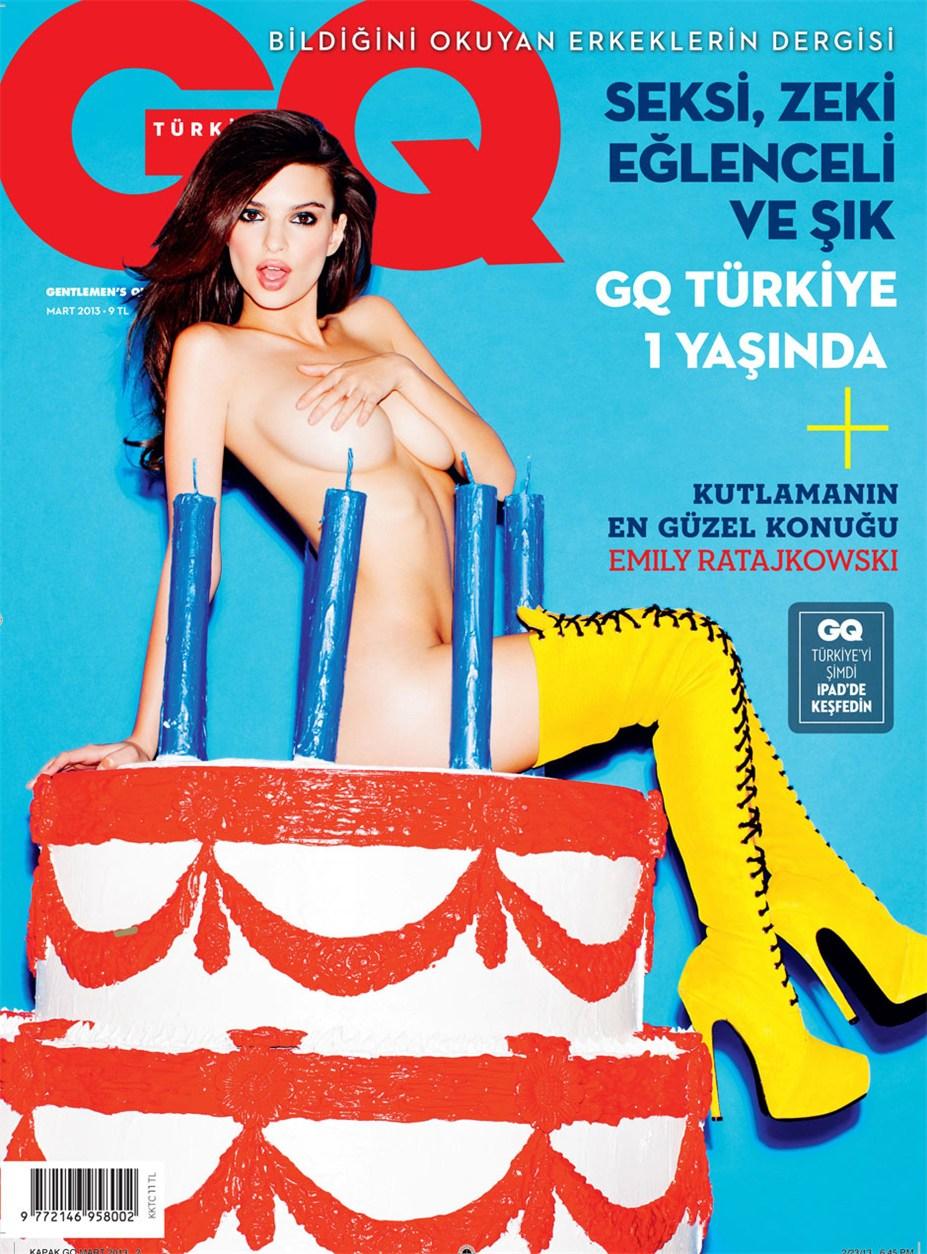 Emily Ratajkowski / Эмили Ратажковски в журнале GQ Turkey, март 2013 / фотограф Tony Kelly
