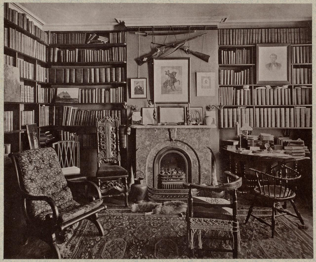 1861. Библиотека губернатора