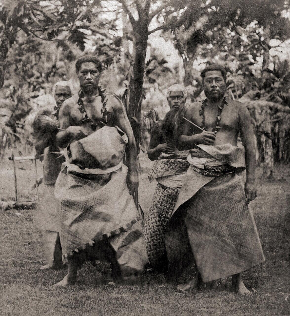 Самоанские острова, Апиа, Вожди (1870-е)