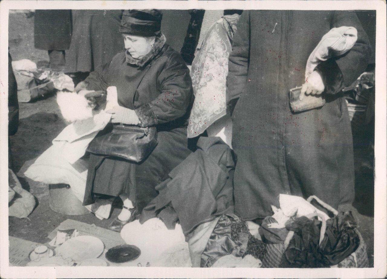 1930. Торговля на Лиговке. Ленинград