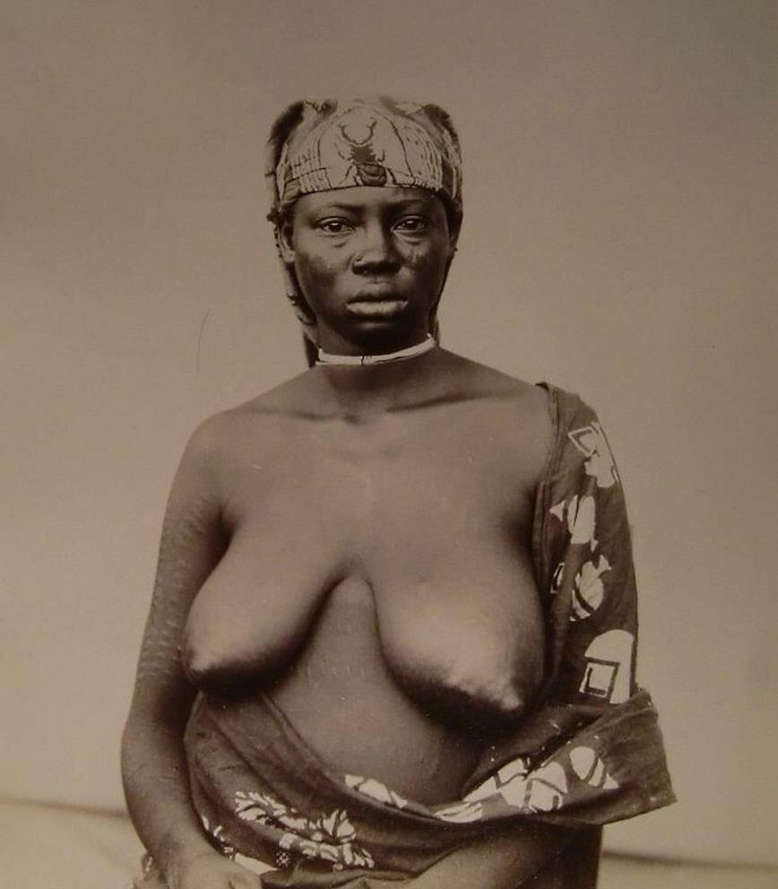 Женщина из Судана, примерно 1890.