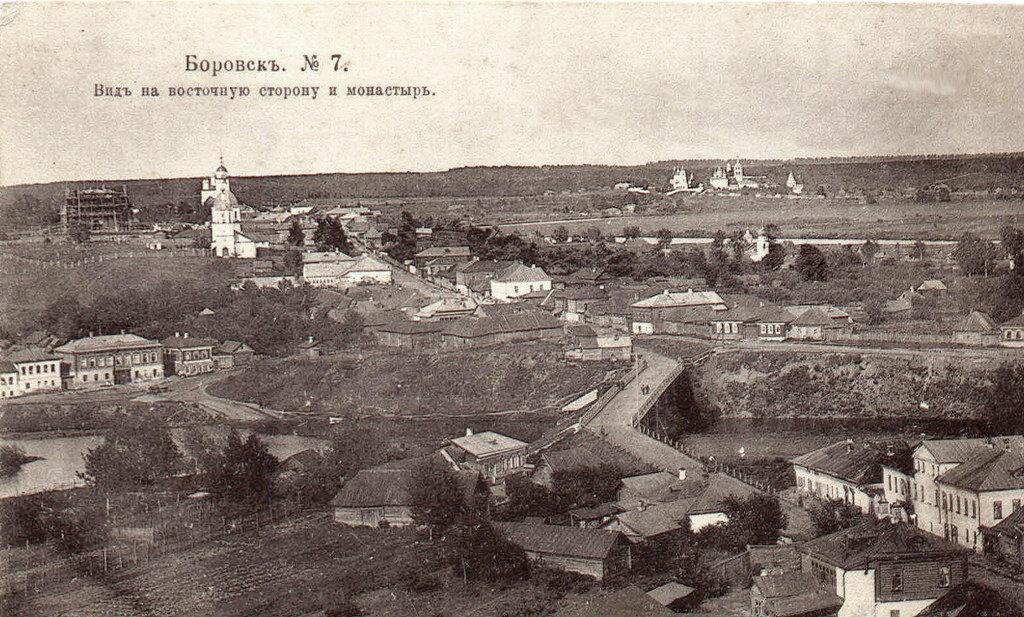 Вид на восточную сторону и монастырь