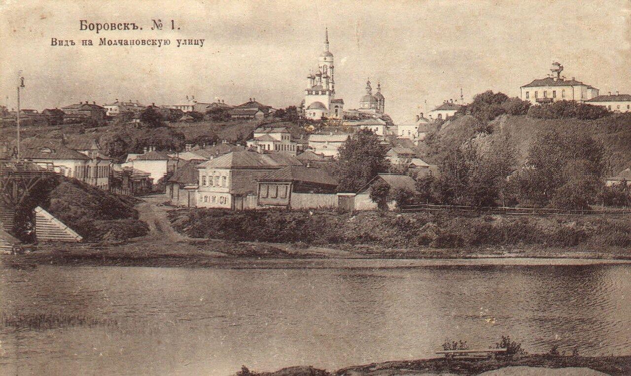 Вид на Молчановскую улицу