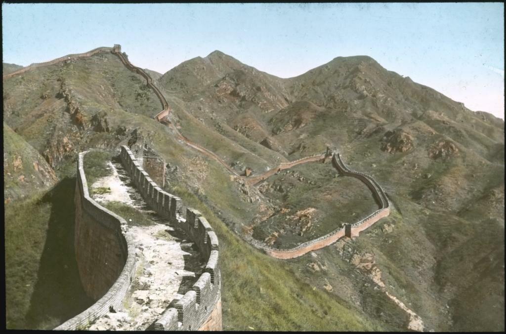 Часть Великой китайской стены