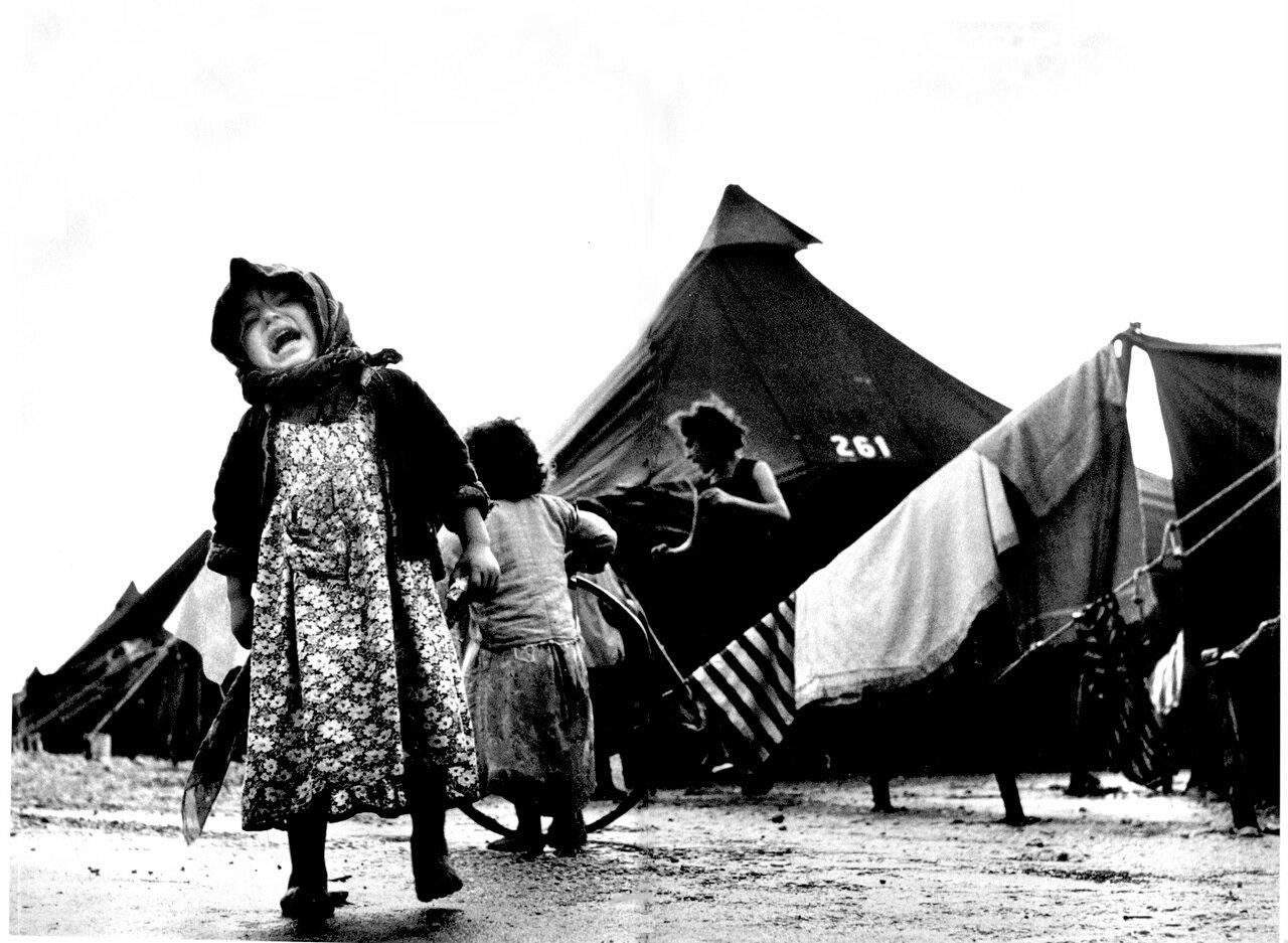 1950. Транзитный лагерь в Шаар Ха-Алия. Хайфа